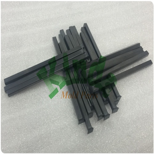 High precision square forming punches with forged head, special piercing punch with TICN coating