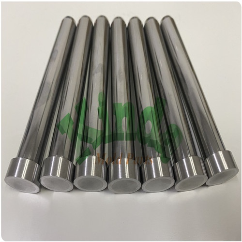 High Precision Dayton standard pilot punch with cylindrical head, precision carbide punch with steel head