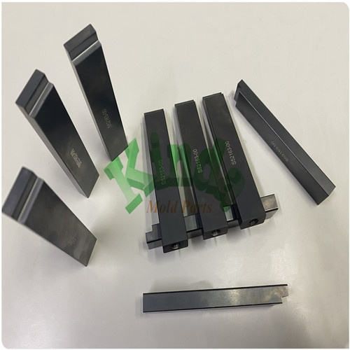 High precision punch with inner thread, customzied piercing punch & forming punch with TICN coating