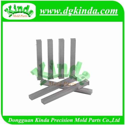 High Precision ASP23 Square Punch with Forged Head , Straight Square Punch for Die Mold Tools