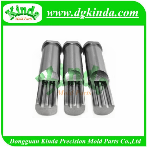 High Precision Stepped Forming Punch with Cylindrical Head, Special Piercing Punch for Die Press Tools
